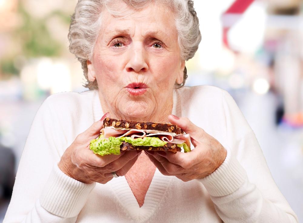 Gesund abnehmen für Ältere